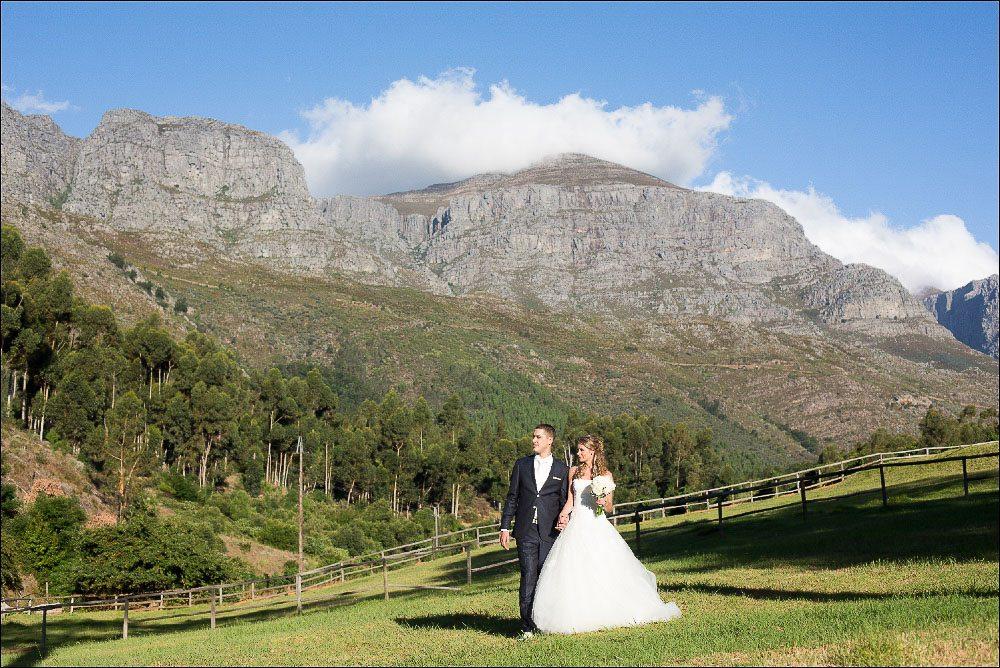 Trouwen in Zuid-Afrika Trouwen in de mooie indrukwekkende wijnvelden van Zuid-Afrika