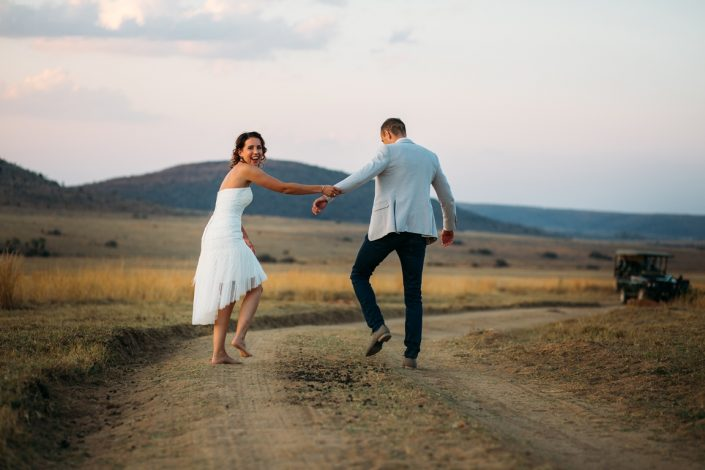De beste manier om te trouwen: op blote voeten!